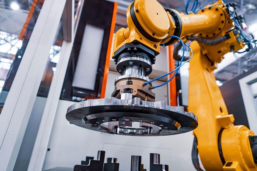Roboterarm in der Fertigung
